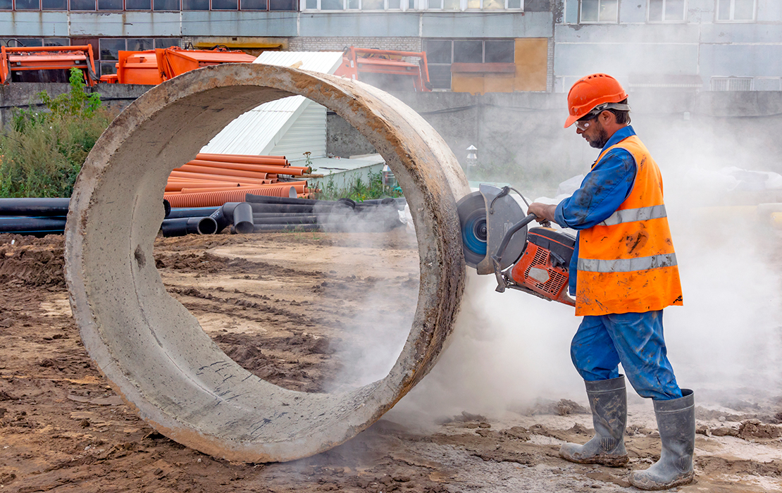 Respirable crystalline silica monitoring and exposure assessments